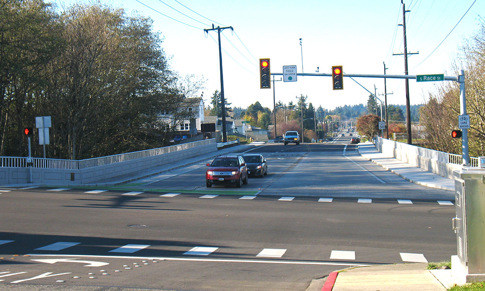 LAURIDSEN BLVD. BRIDGE REPLACEMENT , Port Angeles, Washington  Owner/Client : City of Port Angeles  Services : Civil and Structural Engineering