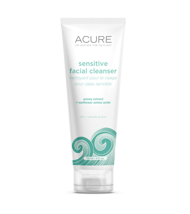 Acure Sensitive facial cleanser