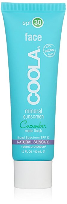 If you are looking for a serious matte sunscreen this is your product as it has a powder finish.