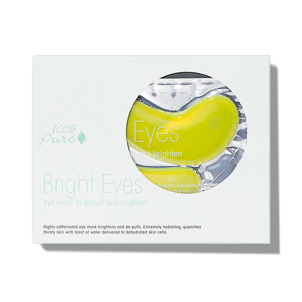 100% PURE Bright Eye Mask - 5 pack // $30 - Brightening, de-puffing, hydrating eye area