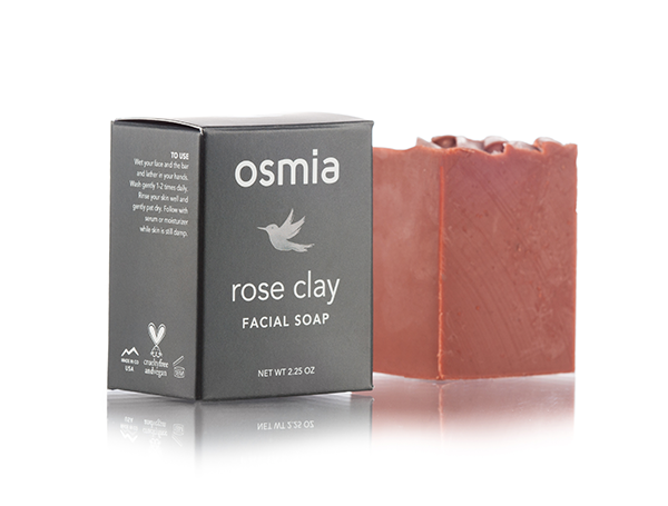 Osmia Rose Clay Facial Soap// $24 - Good For: Dry, mature, or sensitiveHealing, nurturing