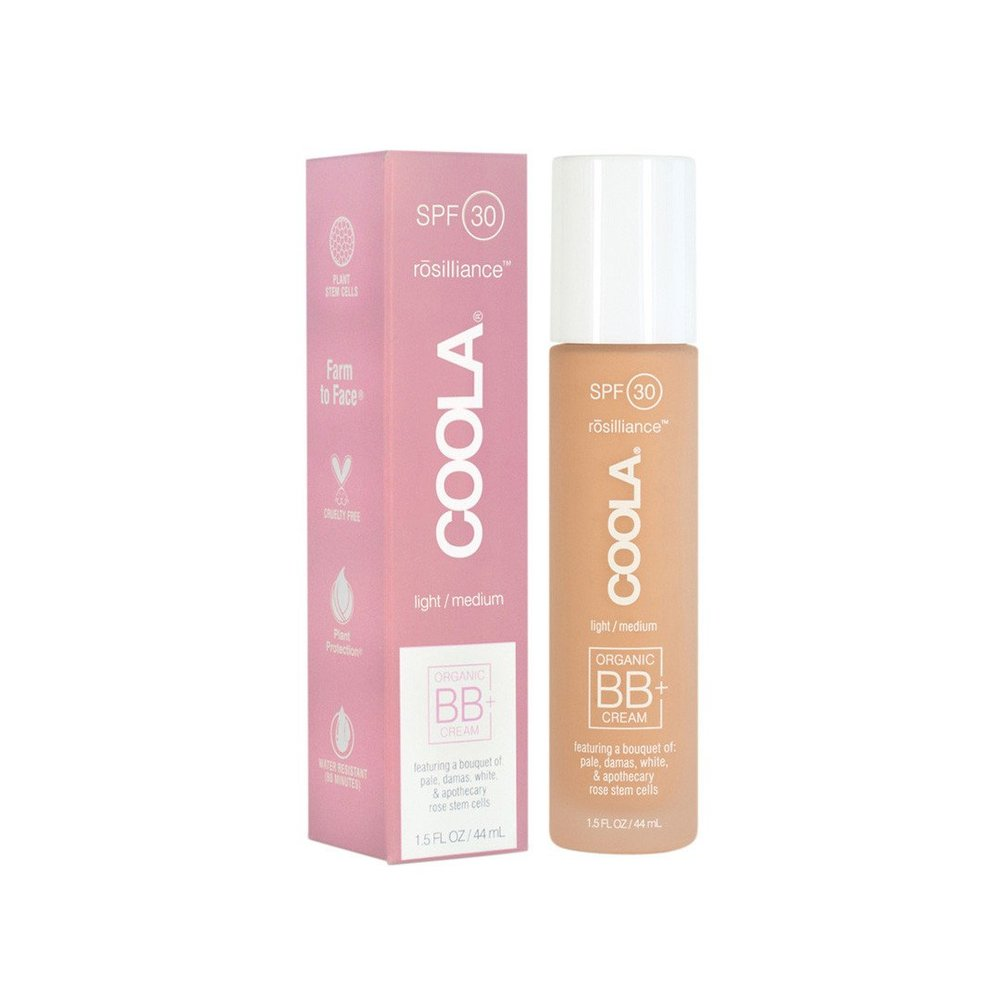 COOLA Mineral Face SPF 30 Rosilliance // $52   (tinted, 3 shades, all skin types)