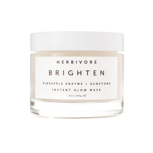 Herbivore Botanicals Brightening Pineapple + Gemstone Instant Glow Mask // $48