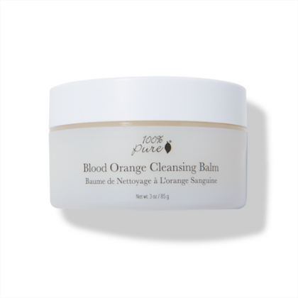 100% Pure Blood Orange Cleansing Balm // $38