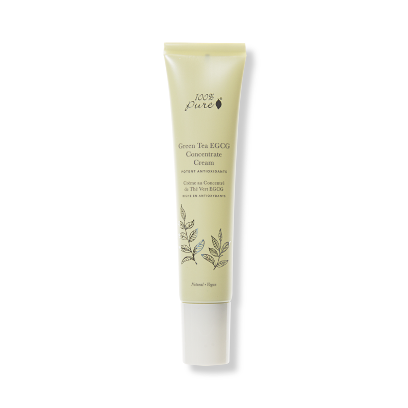 100% PURE Green Tea EGCG Concentrate Cream // $45 (all skin types, anti-aging)