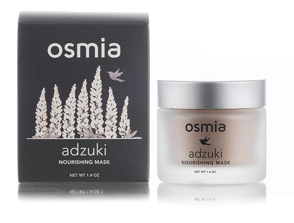 OSMIA ORGANICS Adzuki Nourishing Mask // $40 - Good For: Dry, mature, normal, sensitive, combinationAdzuki beans, organic quinoa gently exfoliate while nourishing the skin.