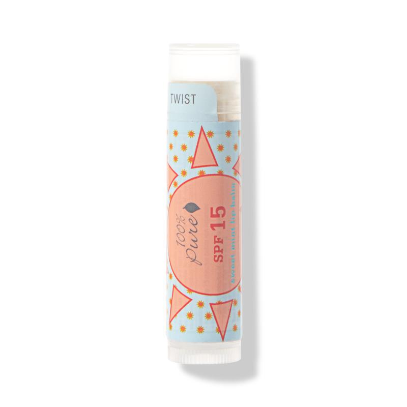 100% PURE Sweet Mint Lip Balm SPF 15 // $9
