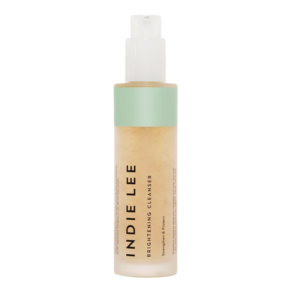 indie lee brightening cleanser// $32 - Good For: All skin typesAntioxidant rich, firming, brightening
