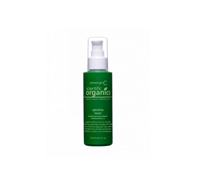 EmerginC Scientific Organics Spirulina Toner // $30 - Good For: All skin typesGentle, hydrating, soothing