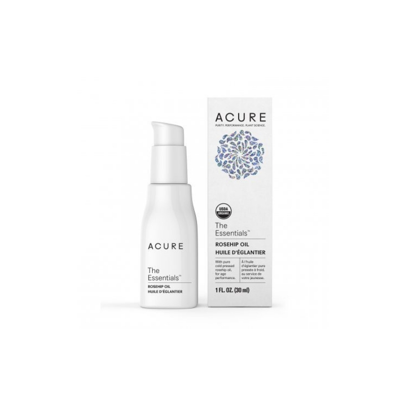 Acure Rosehip oil // $13 - Good For: Dry, sensitive, rosaceaMoisturizing, soothing, lightens pigment