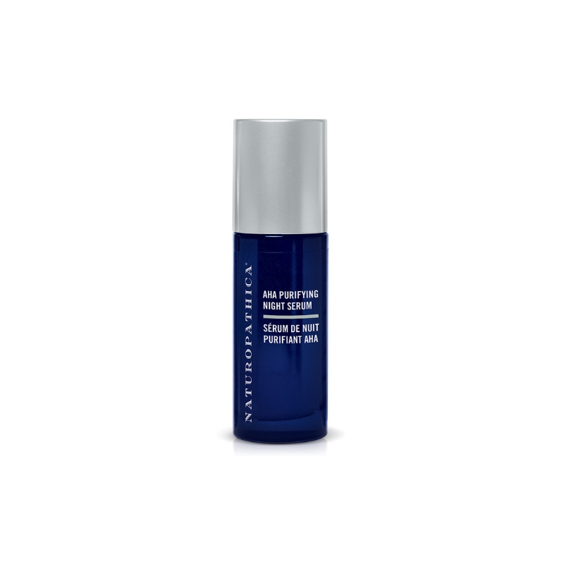 NATUROPATHICA AHA Purifying Night Serum // $54 - Good For: Oily, acne prone, combination, congestedNight time blend of glycolic and salicylic acids
