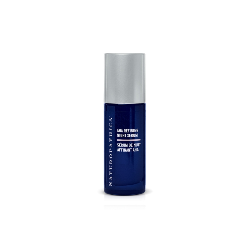 NATUROPATHICA AHA Refining Night Serum // $54 - Good For: Aging skin, normal, combination, pigmentedNight time glycolic acid serum
