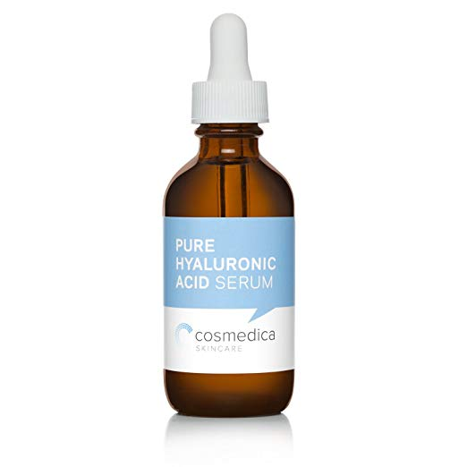 cosmedica Pure hyaluronic acid serum // $15 - Good For: All skin types especially dehydratedA hydrating vegan hyaluronic acid serum