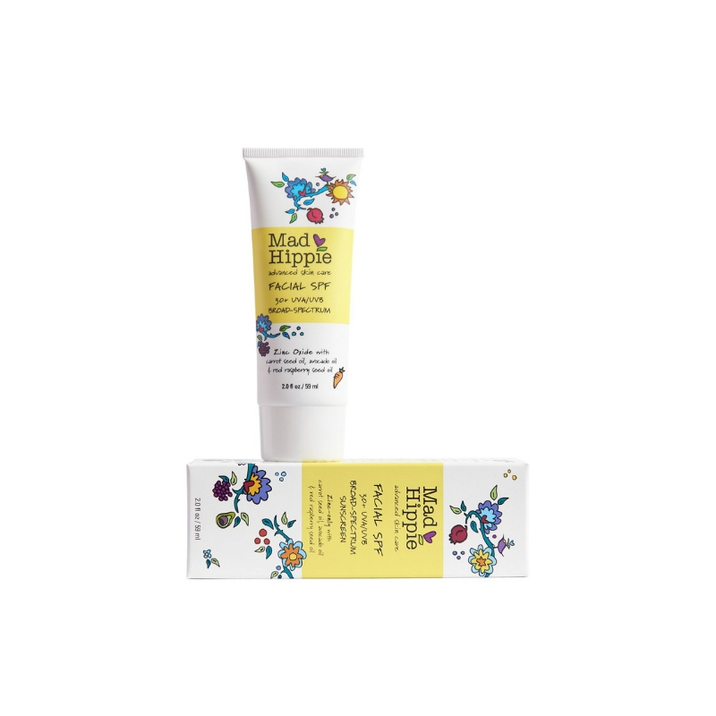 Mad hippie facial SPF 30// $25 - Good For: All skin typesAntioxidant rich zinc based mineral sunscreen