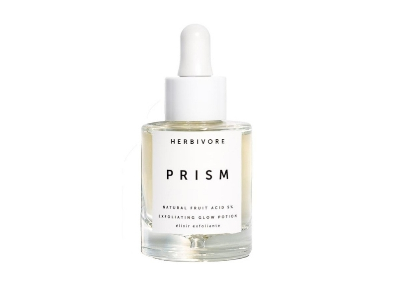 Herbivore Prism exfoliating glow potion // $62 - Good For: Most skin typesA rainbow of natural fruit acids to exfoliate, hydrate, even appearance of skin tone, smooth + clarify.