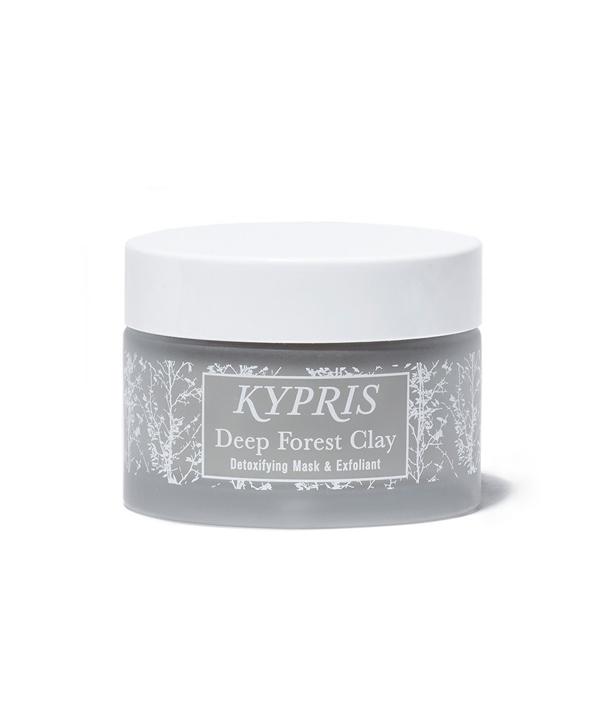 KYPRIS Deep Forest Clay Mask// $88 - Good For: Most skin types, especially congestedDetoxify, brighten, smooth, exfoliate, & gently dissolve congestions.