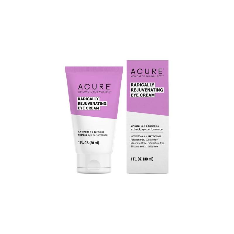 Acure Radically Rejuvenating Eye Cream // $17 - Deeply moisturizing eye cream
