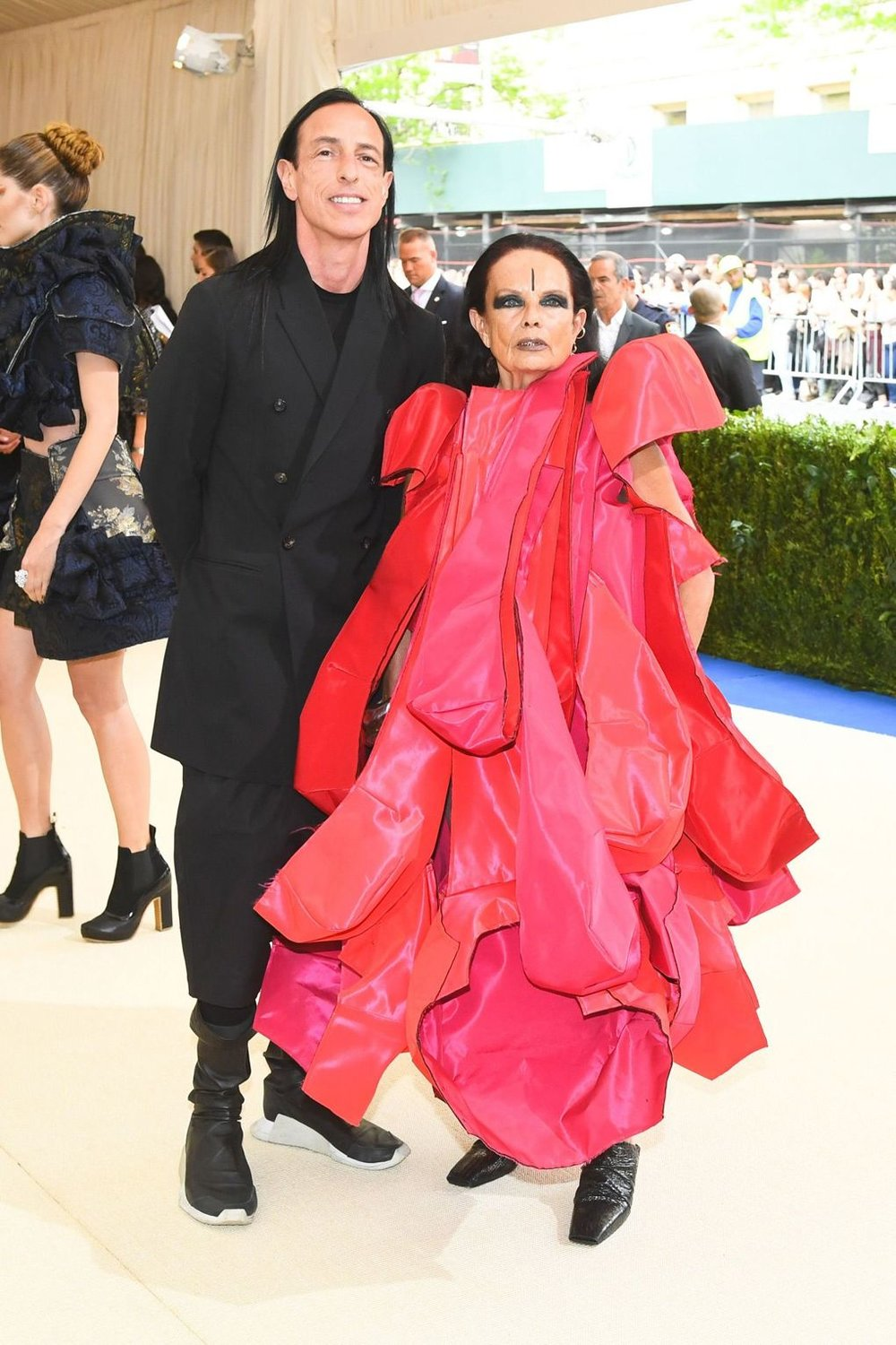 Rick Owens and Michèle Lamy