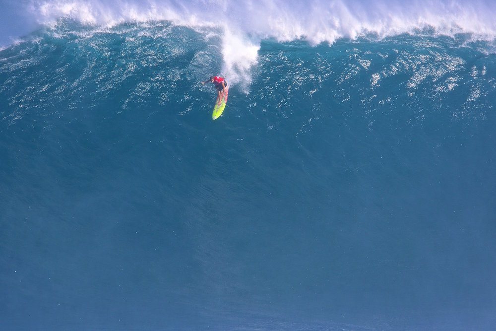 Makua Rothman at Jaws 1 by Dooma