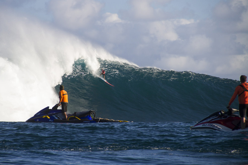 Billy Kemper at Jaws 1 by Hovey