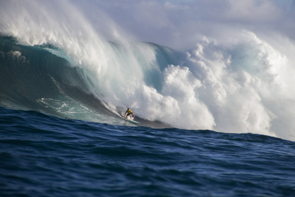 Ian Walsh at Jaws by Hovey