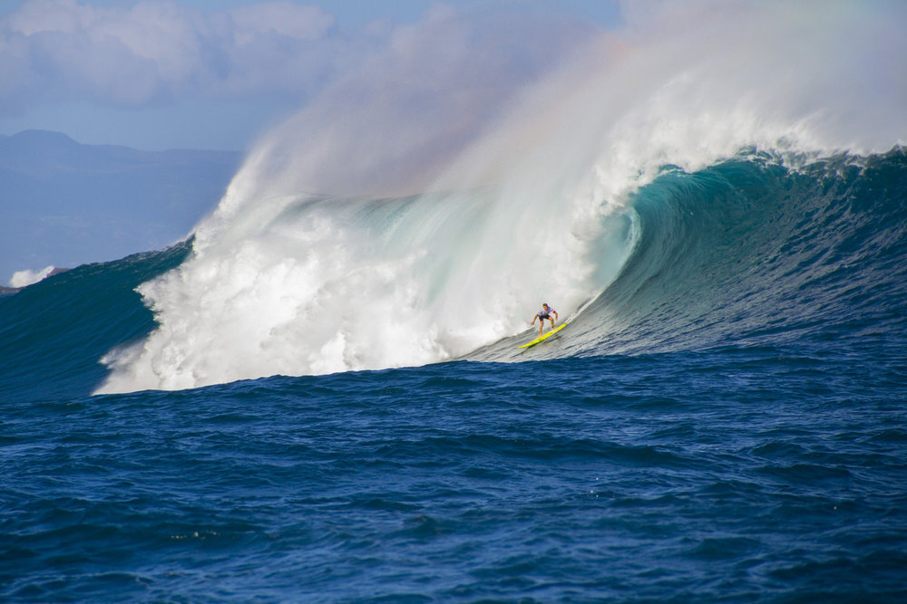Mark Healey at Jaws by Hovey
