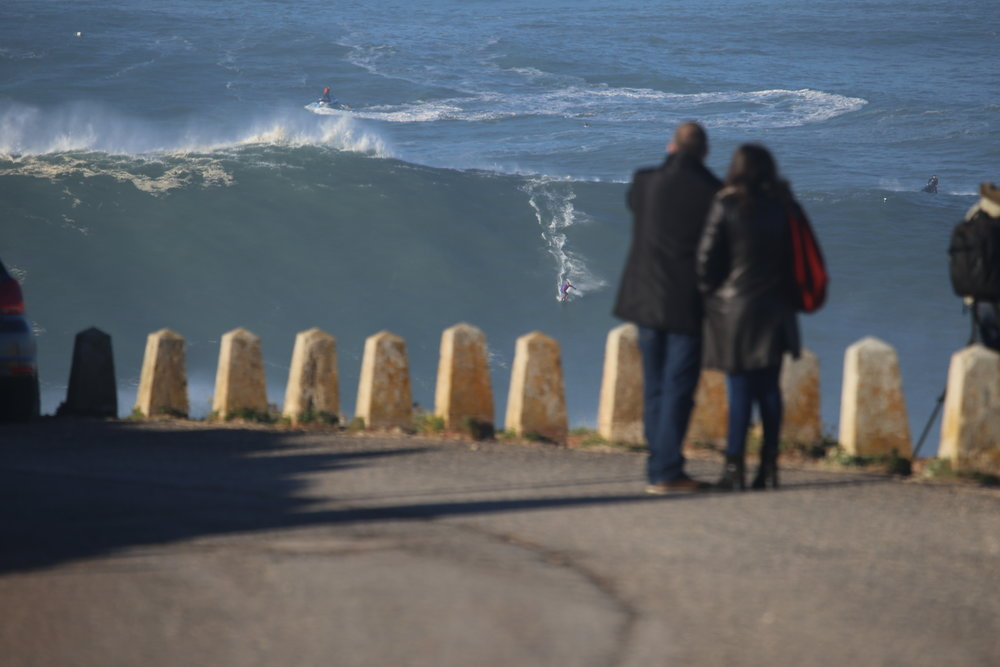 Eric Rebiere at Nazaré B by Botelho