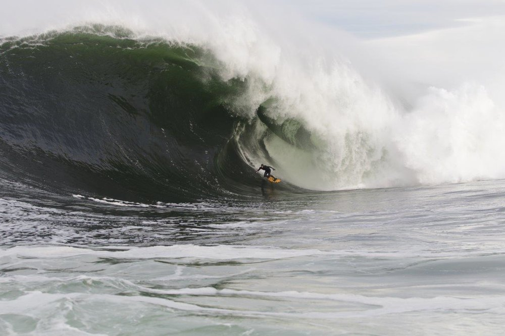 Mikey Brennan at Shipstern Bluff 3 by Burnside