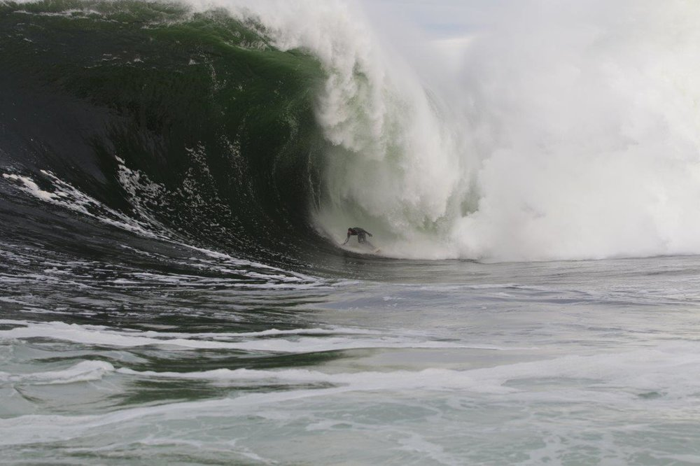 Mikey Brennan at Shipstern Bluff 5 by Burnside