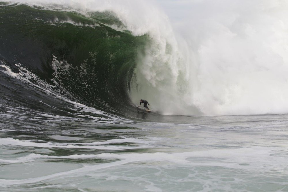 Mikey Brennan at Shipstern Bluff 6 by Burnside