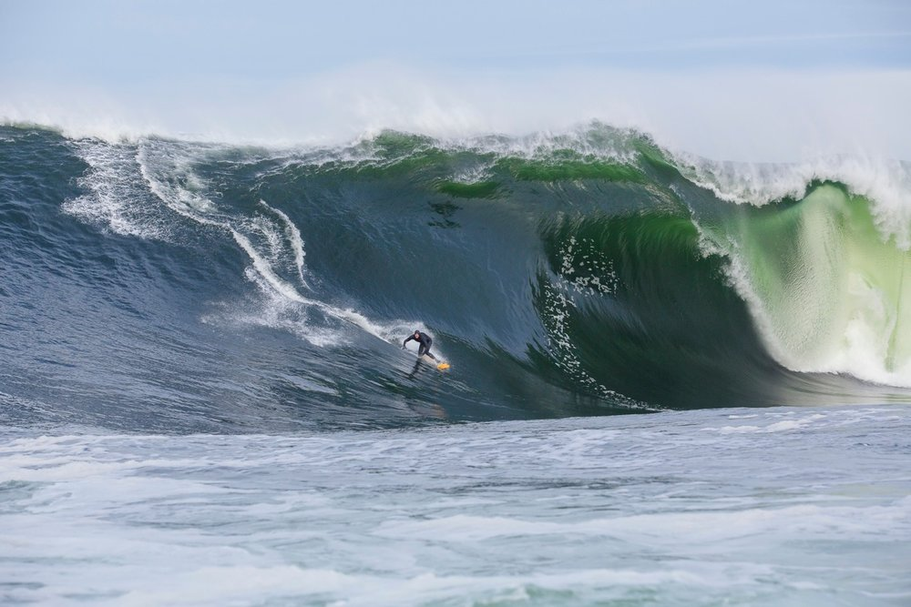 Mikey Brennan at Shipstern Bluff 1 by Chisholm