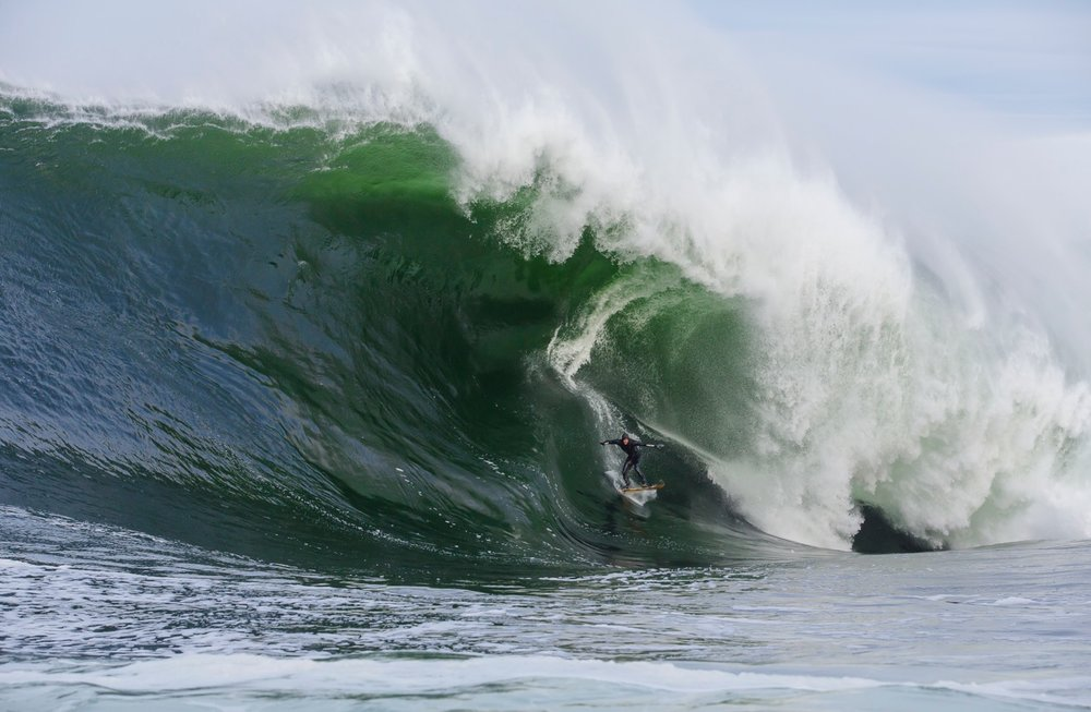 Mikey Brennan at Shipstern Bluff 3 by Chisholm