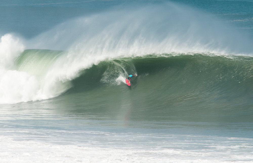 Damien Hobgood at Puerto by Bala