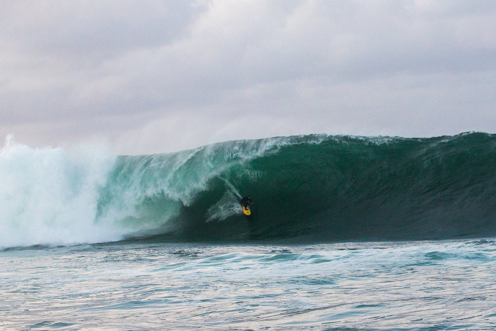 Will Skudin at Mullaghmore 1 by Burrow