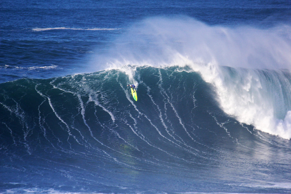 Jamie Mitchell at Nazaré by Balau