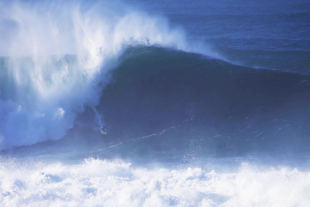 Jamie Mitchell at Nazaré by Botelho