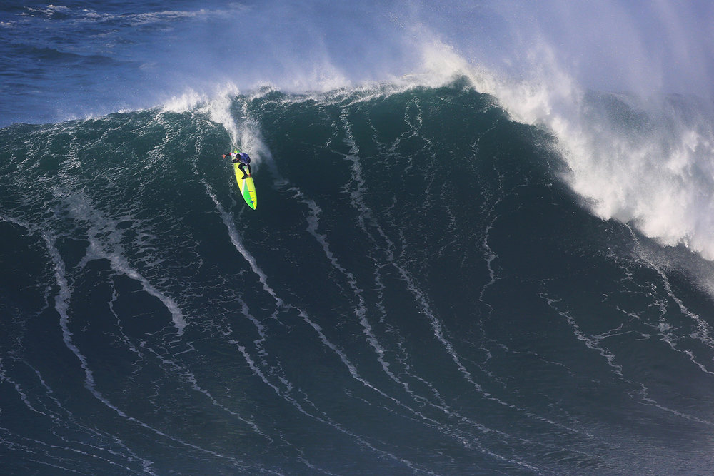 Jamie Mitchell at Nazaré 1 by Chaby