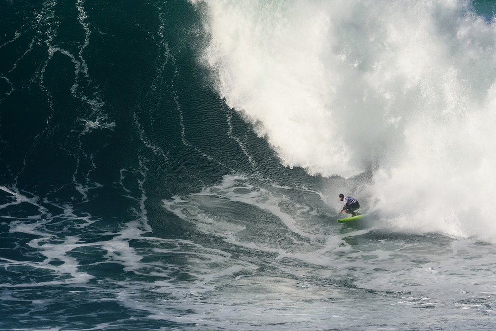 Jamie Mitchell at Nazaré B by Correia