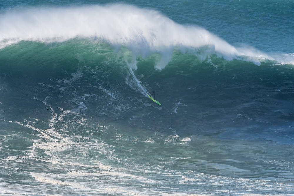 Jamie Mitchell at Nazaré A by Correia
