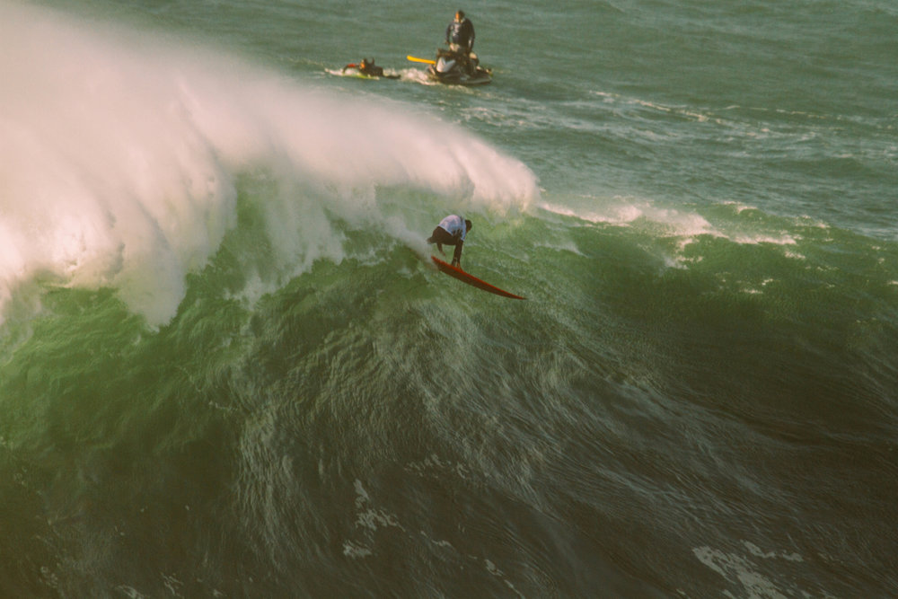 Joao De Macedo at Nazaré by Cruz