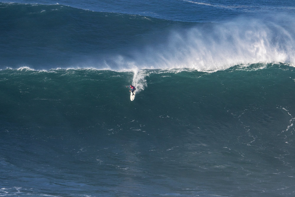 Carlos Burle at Nazaré A2 by Soares