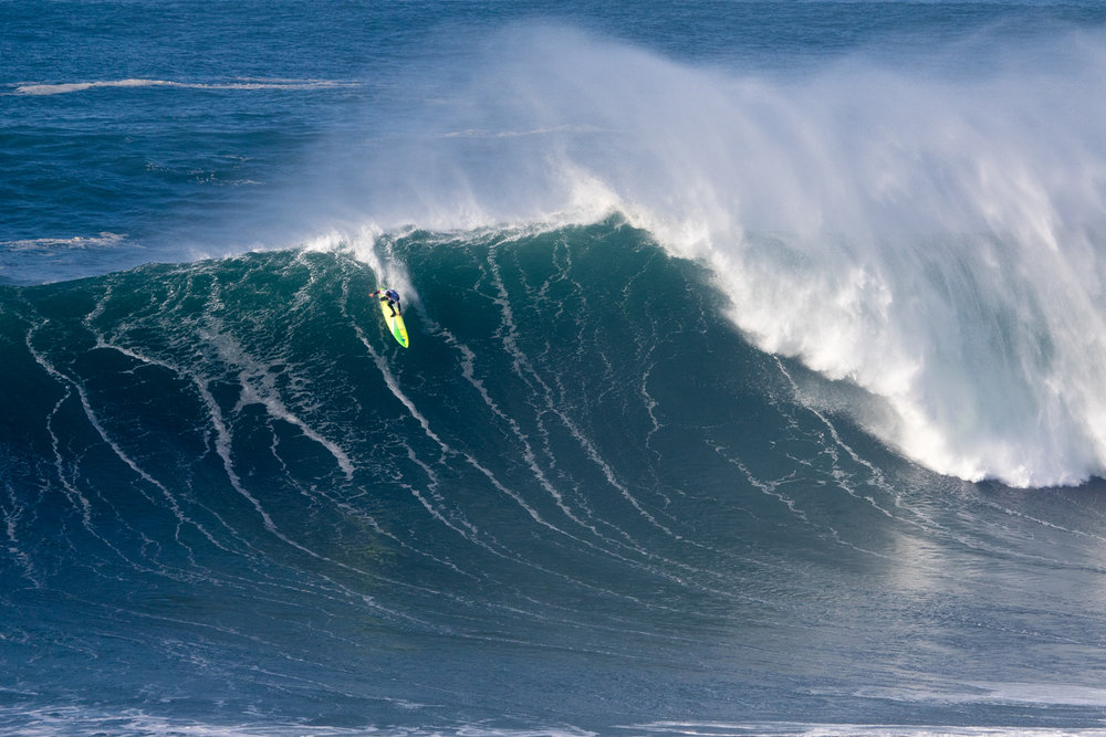 Jamie Mitchell at Nazaré A by Soares
