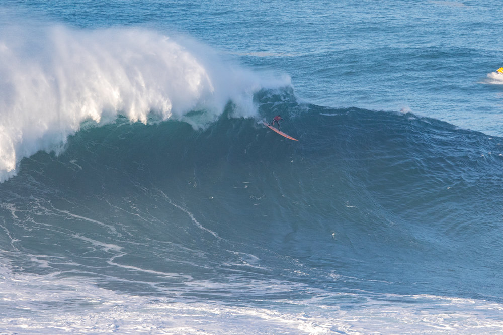 Nic Lamb at Nazaré A by Soares