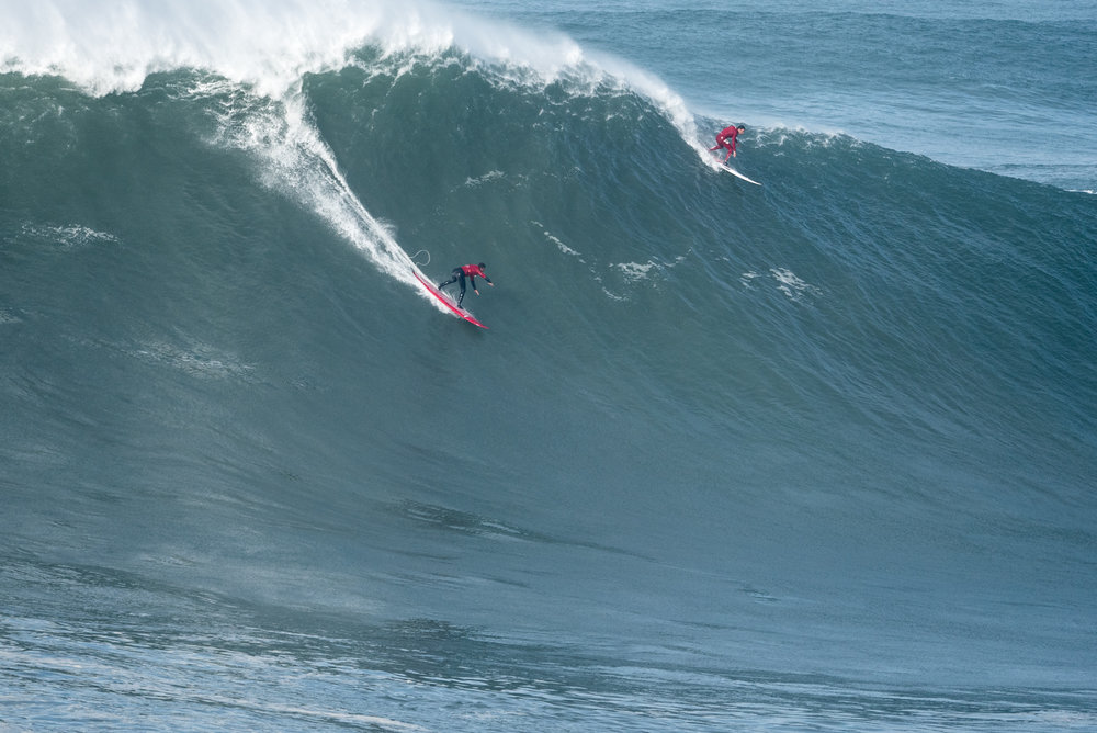 Lucas Chianca at Nazare 1 by Aleixo