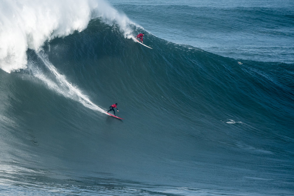 Lucas Chianca at Nazare 2 by Aleixo