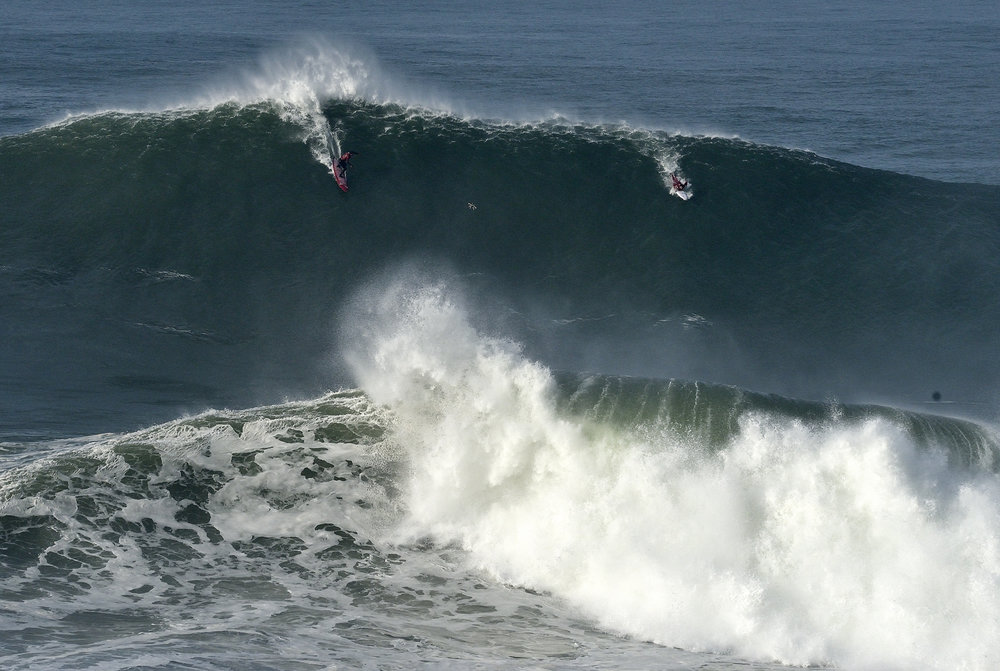 Lucas Chianca at Nazaré 1 by Carminati