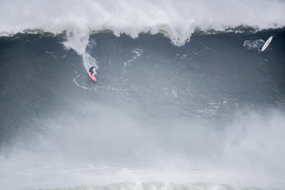 Nic Von Rupp at Nazaré by Miranda