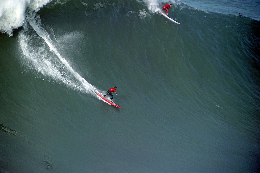 Lucas Chianca at Nazaré by Riancho.