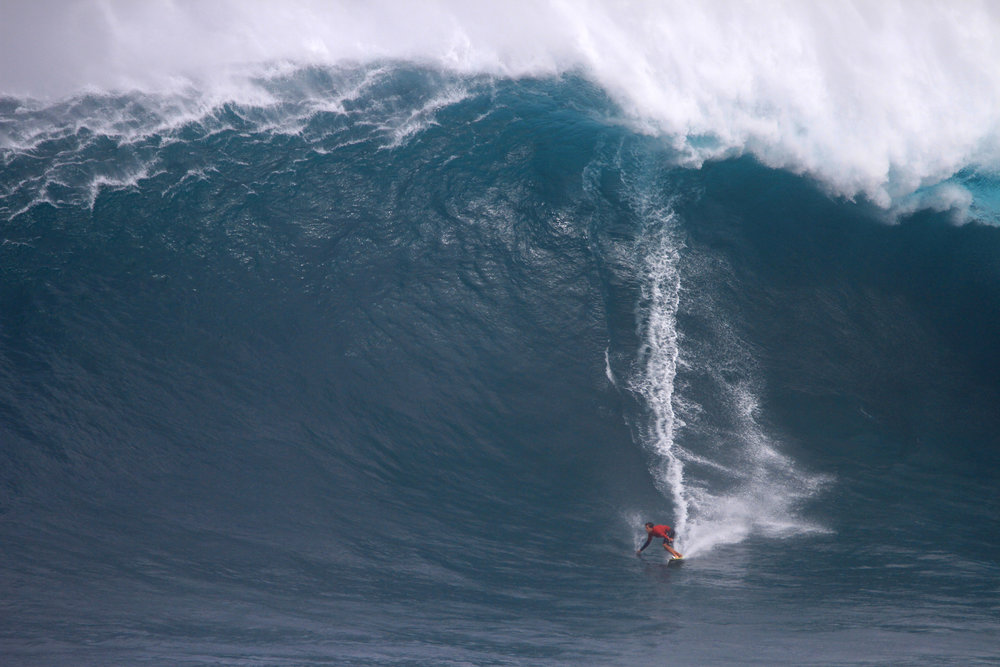 Kai Lenny at Jaws A2 by Lynton