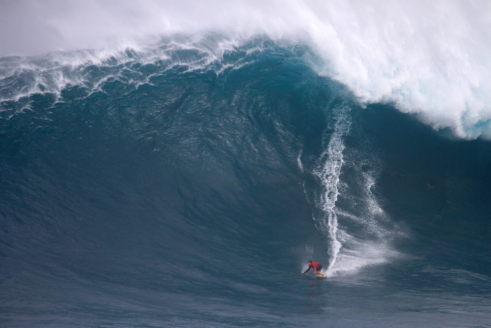 Kai Lenny at Jaws A3 by Lynton